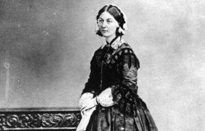 Florence Nightingale b&w